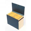 Marbig expanding handy file manilla A5 blue