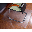 Rapidline chair mat for hard floor surfaces large 1350 x 1140mm