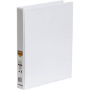 Marbig insert binder A4 2 ring 25mm white