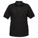 Prime mover mp101 micro mesh polo shirt short sleve black 2XL