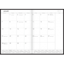 Milford planner A4 month to a view