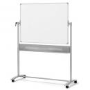 Nobo mobile whiteboard reversable magnetic 1500 x 1200mm
