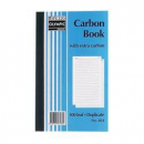 Olympic 604 plain carbon book duplicate 200 x 125mm 100 leaf