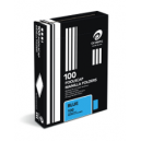 Olympic manilla folders foolscap dark blue box 100