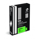 Olympic manilla folders foolscap dark green box 100