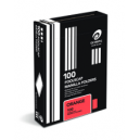 Olympic manilla folders foolscap orange box 100