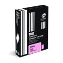 Olympic manilla folders foolscap pink box 100