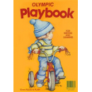 Olympic play book stapled 335x240mm 64 page 10mm ruled for writing /drawing