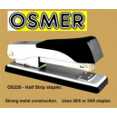 Osmer half strip metal stapler