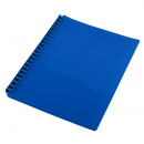 Cumberland display book refillable A4 20 pocket blue
