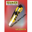 Osmer cutter wide blade screw lock
