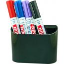 Magnetic whiteboard pen holder - 2 cups