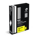 Olympic manilla folders foolscap terra yellow box 100