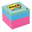 Post-it memo cube 48 x 48mm brights