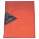 Colby pop display book 10 pockets orange