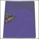 Colby pop display book 10 pockets purple