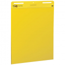 Post it easel pad 630 x 775 yellow pack 3