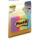 Post-it paper page markers 15 x 50mm ultra small 5 colours Capetown