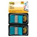 Post-it flags bright blue twin pack 100
