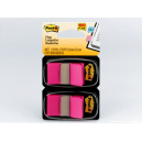 Post-it flags bright pink twin pack 100