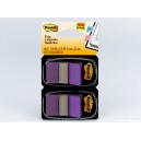 Post-it flags purple twin pack 100