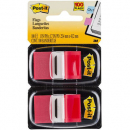 Post-it flags red twin pack 100