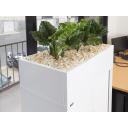 Go steel planter box 900mm white china