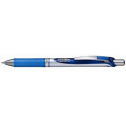 Pentel energel retractable gel ink pen fine 0.7mm blue