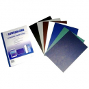 Cumberland binding cover leathergrain A4 280gsm pack 100 royal blue