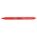 Pilot frixion retractable erasable gel ink pen fine 0.7mm red