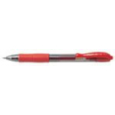 Pilot g2-7 retractable gel ink pen fine 0.7mm red