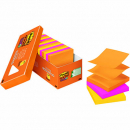 Post-it pop-up  notes 76 x 76mm Rio colours cabinet pack 18