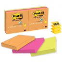 Post-it pop-up notes 76x76mm assorted capetown pack 6