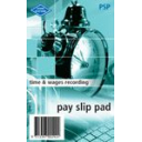 Zions pay slip pads 135 x 85mm pack 10