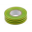 PVC insulation tape 19mm x 20m yellow green