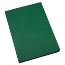 Quill binding cover leathergrain A4 250gsm pack 100 forest green