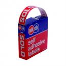 Quikstik dispenser label sold 16x63mm 250 labels