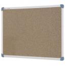 Penrite quartet aluminium framed corkboard 900 x 600mm