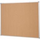 Penrite quartet aluminium framed corkboard 1800 x 1200mm