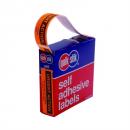 Quikstik dispenser label urgent action 19x63mm 125 labels