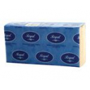 Regal economy interleaved towel small 230 x 235mm 150 sheets box 16 pack