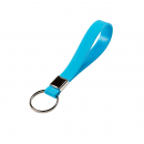 Rexel key ring soft touch blue