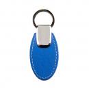 Rexel key ring oval pu finish blue