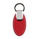 Rexel key ring oval pu finish burgundy