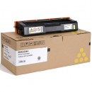 Ricoh 406486 laser toner cartridge yellow
