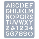 Esselte letter stencil 51mm