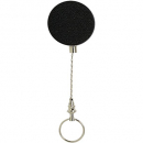 Rexel retractable key holder metal chain and ring