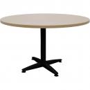Rapid span 4 star round table black pedestal base 900mm cherry