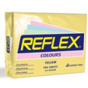 Reflex colours A4 copy paper 80gsm 500 sheets yellow