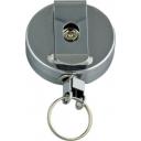 Key ring osmer retractable metal
